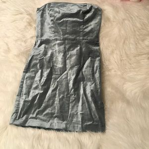 Urban outfitters strapless dress NWOT
